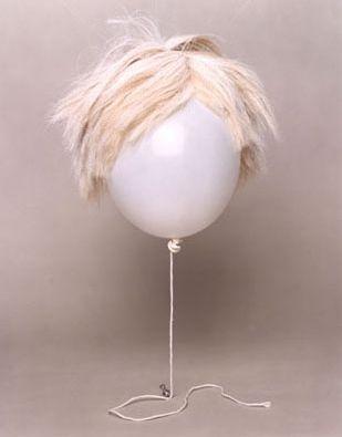 Andy Warhol ballon art// Haha really similar//