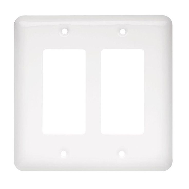 455 liberty stamped round 2 decora wall plate white64088 the home depot