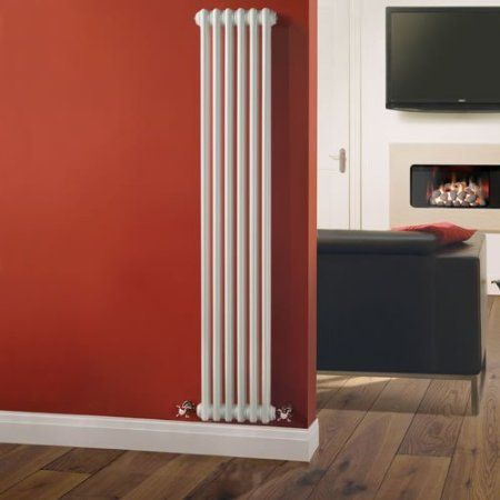 Milano Windsor - Traditional 6 x 2 Column Radiator Cast Iron Style White x - Vertical Column Radiators - Traditional Column Rad. : sectional radiators - Sectionals, Sofas & Couches
