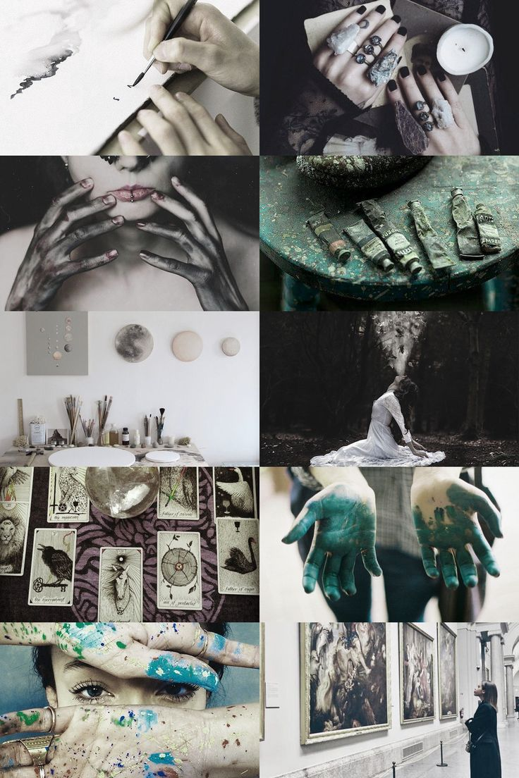 art witch aesthetic (requested) more here // request here