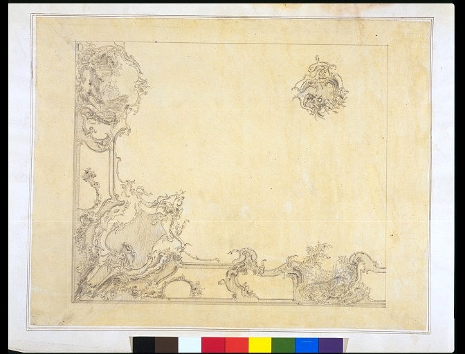 Design for a rococo ceiling | Crace, John Gregory | V Search the Collections