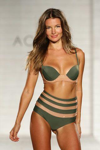 Si y No Miami Fashion Week Trajes de Baño