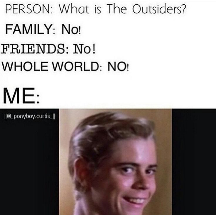 steve randle the outsiders i left the toaster on - Google Search