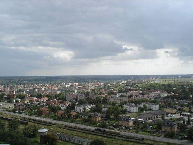 Fotka z komina huty panorama gostynia