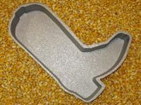 cowboy boot cake pan! @Candice Brevard this would be cool for the party...