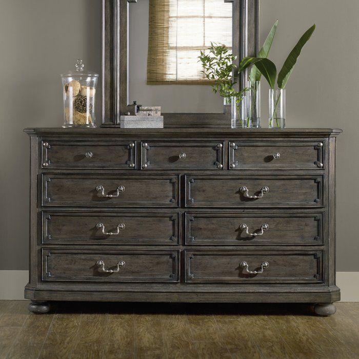 St Armand 9 Drawer Dresser With Mirror 9 Drawer Dresser Cheap Bedroom Furniture Furniture