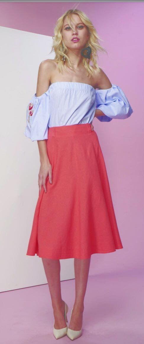 Mejores 91 imágenes de Saias en Pinterest | Faldas, Moda femenina y ...