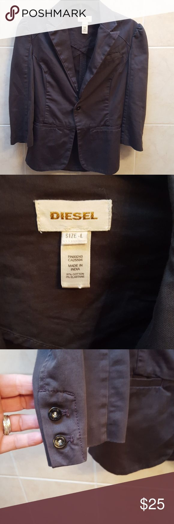 DIESEL blazer/jacket DIESEL blazer/jacket, Euc, size L great with jeans Diesel Jackets & Coats Blazers