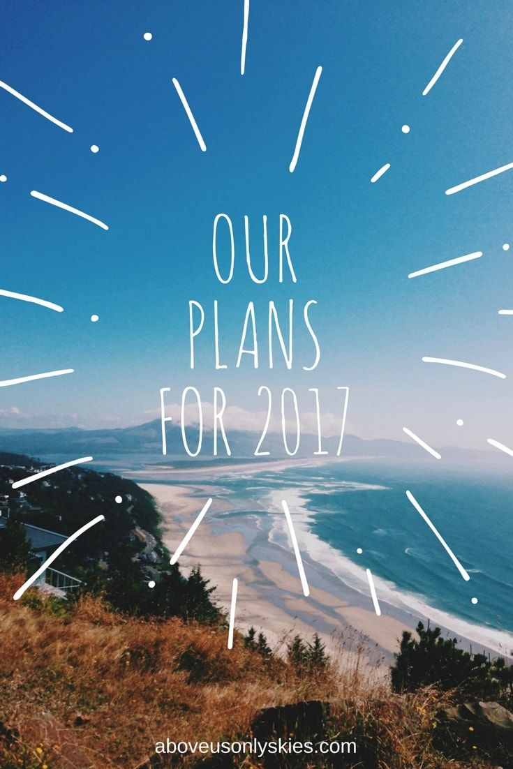 Because everyone likes a travel plan, and we're pretty excited about ours...