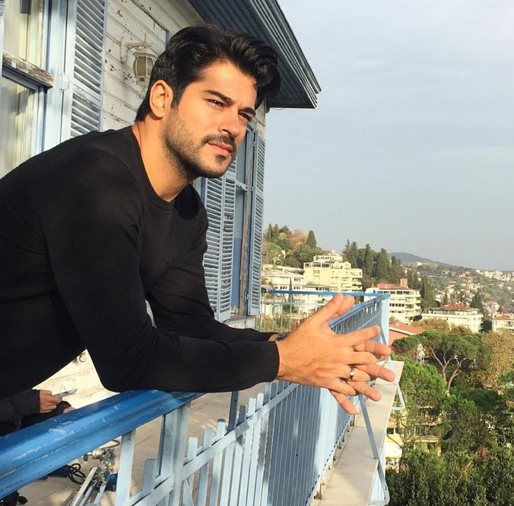 Turkish actor burak