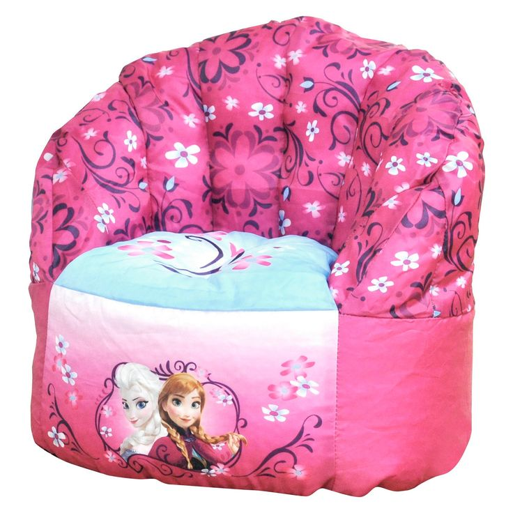 Toddler Frozen Bean Bag Chair - Pink - Disney,