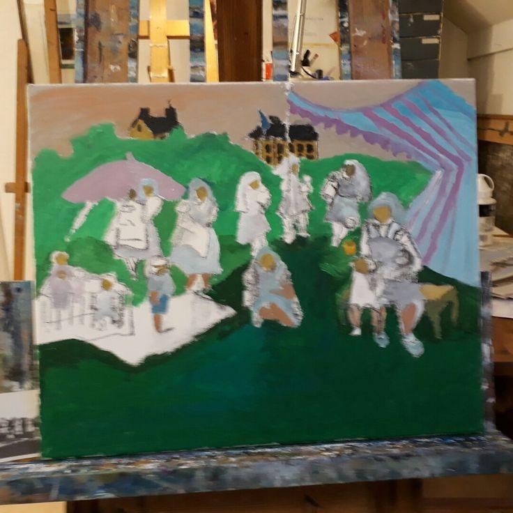 Work in progress by Ida Beate Serendahl 2017