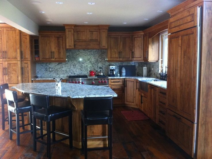 wormy maple kitchen with island hickory kitchens