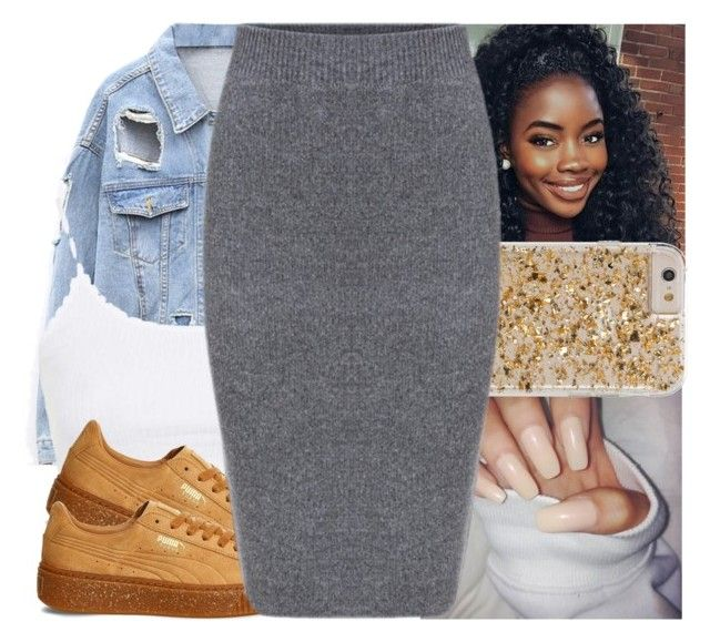"""""""🚖"""" by l-ondonbridge ❤ liked on Polyvore featuring Topshop and Puma"""