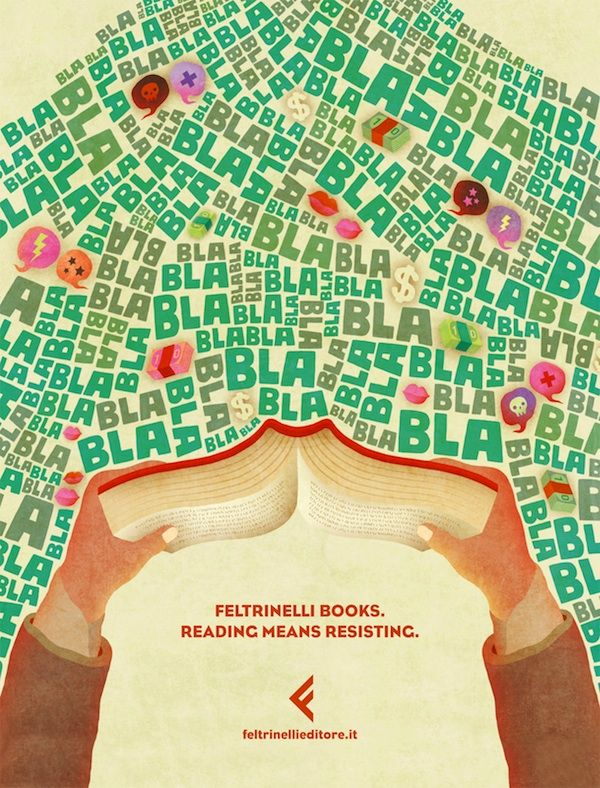 Reading Means Resisting- Feltrinelli Books
