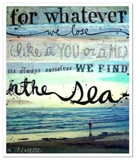 Sea: At The Beaches, Poems, Turquoi Blue, The Ocean, Art, Ee Cummings, Beaches Houses, Favorite Quotes, The Sea