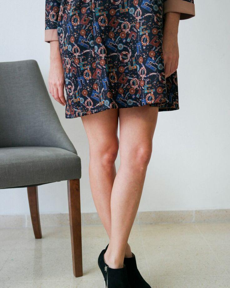 Sixties inspiration dress