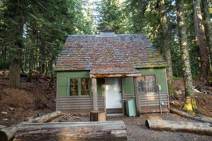 Mt Hood Cabin Rentals - Lost Lake Resort Oregon