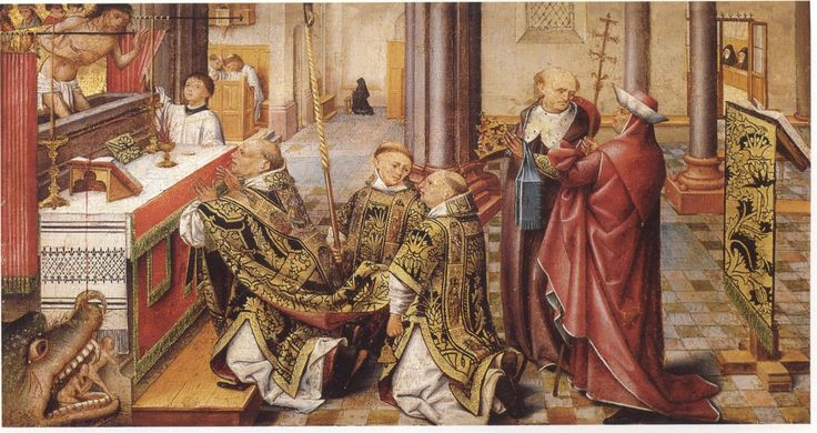 Mass of Saint Gregory / Gregorsmesse 1500 -1510