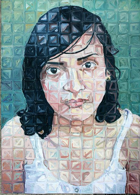 25+ best ideas about Chuck close paintings on Pinterest | Chuck ...