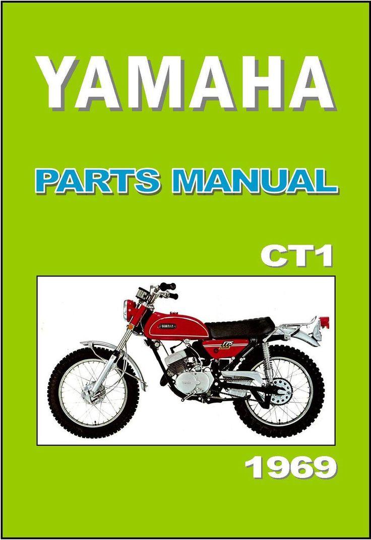 Yamaha Parts Manual CT1 1969 Replacement Spares Catalog List | eBay