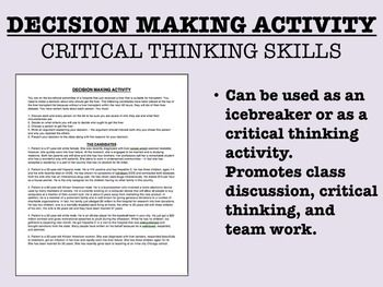 Developing Students' Critical Thinking Skills Through Whole-Class Dialogue