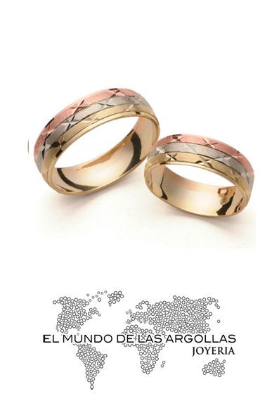 Modelo: F9386H #ArgollasDeMatrimonio