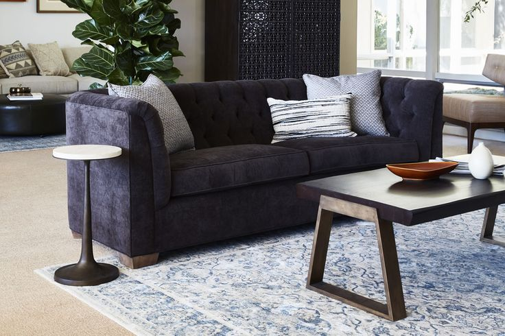 Broyhill Sofa Loaded with exquisite detail the ED Ellen DeGeneres by Thomasville Furniture Gentilly Metal and Stone Spot Table is the perfect place for your guests to