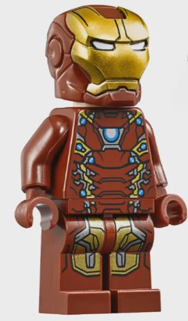 Anthony STARK (IRON MAN)   Earth 13122   Mark XLV   Lego Marvel SUPER HEROES
