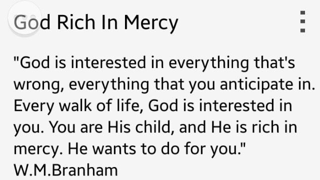God is interested in you!
