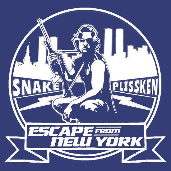 Snake Plissken (Escape from New York) Badge Transparent