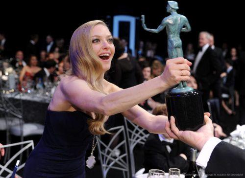 Amanda Seyfried at the Screen Actors Guild Awards 2013