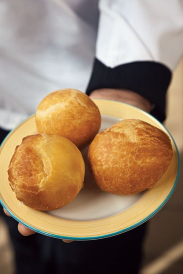 These fluffy fried dumplings, served at the Wyndham Kingston Jamaica, are great alongside ackee and saltfish.