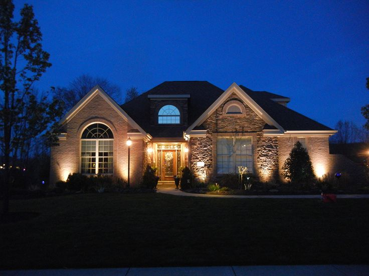 10 best landscape lighting images on pinterest exterior lighting beautiful landscape lighting design for your home front yard aloadofball Image collections