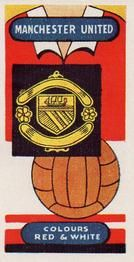 1958 Football Clubs and Badges #3 Manchester United Front