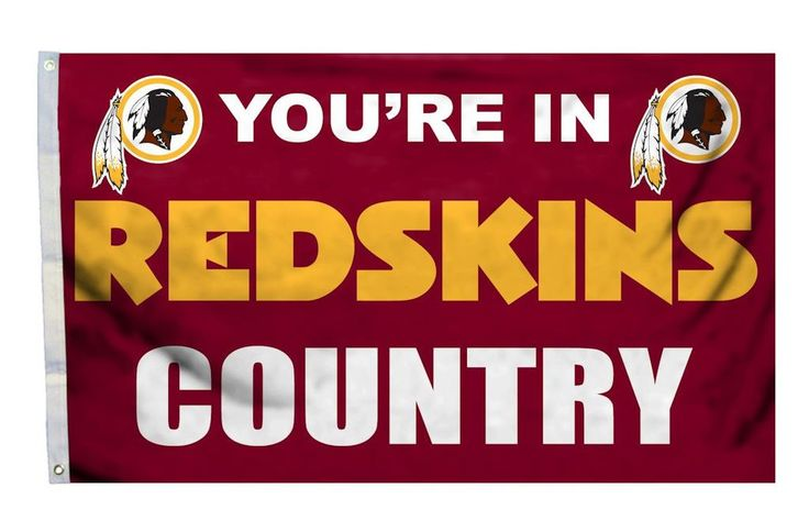 Redskins NFL Flag Redskins Country 3'×5'