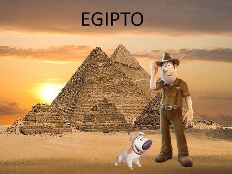 EGIPTO PARA NIÑOS DE INFANTIL - YouTube