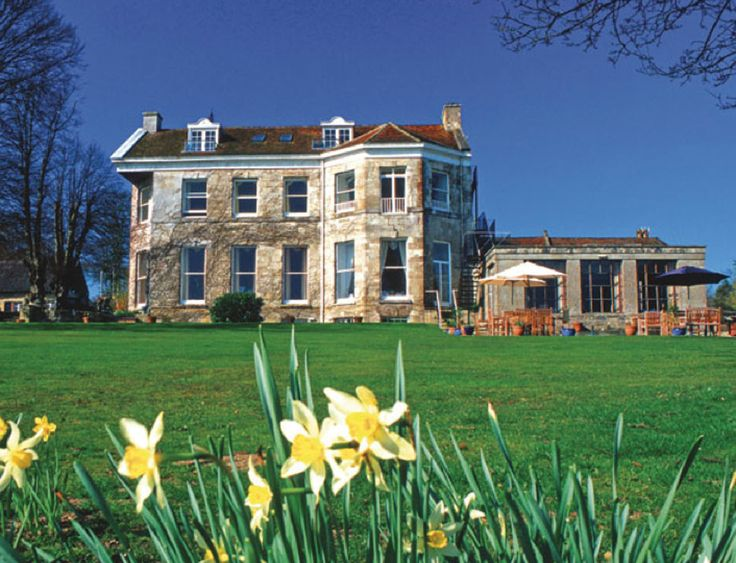 Spring at Priory Bay Hotel, Seaview, Isle of Wight