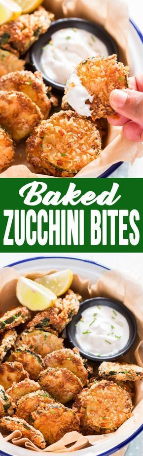Baked Zucchini bites, are deliciously battered and baked, and absolutely addicting. #zucchinibites #zucchini #bakedzucchini #healthysnack #snack #bitesizedsnack