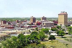 San Angelo, TX - where my son was born.