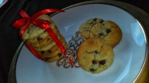CHOCOLATE CHIP COOKIES WITH SELFRAISING FLOUR