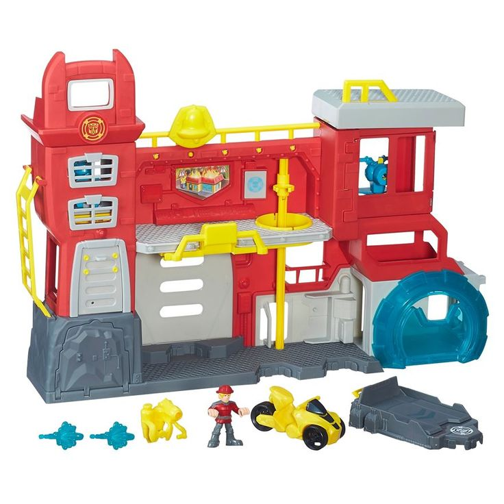 Win 1 of 2 Playskool Transformers Rescue Bots Playsets worth £49.99