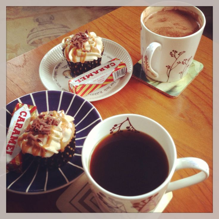 Always time for coffee and cake.