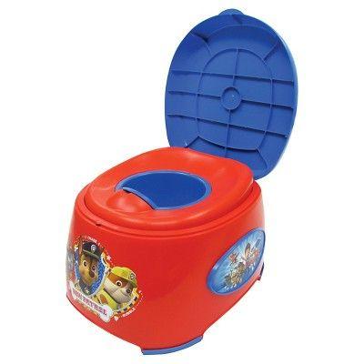 Nickelodeon Paw Patrol Toilet Training Seat - Red/Blue