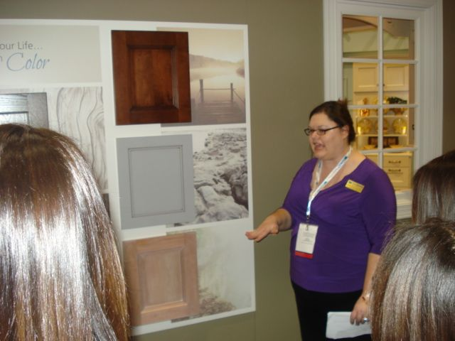 Learning about the @Wellborn Cabinet Inc. possibilities - cabinets for every room of the house! #kitchencabinetry #bathroomcabinetry #officecabinetry #laundrycabinetry #wainscoting #closets #wallunits #linens #storage
