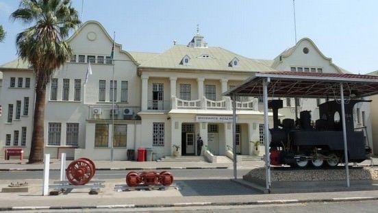 Reisebericht Namibia Historischer Bahnhof Windhoek