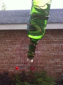 The Creamer Chronicles: DIY Hummingbird feeders