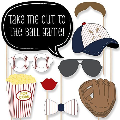 Batter Up - Baseball Photo Booth Props Kit - 20 Count Big Dot of Happiness http://www.amazon.com/dp/B0176LTHDG/ref=cm_sw_r_pi_dp_qoNZwb05MCK91
