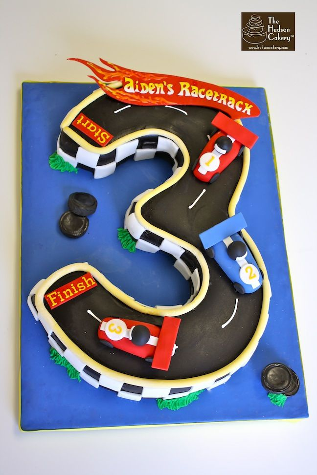 Racetrack Cakes Birthday