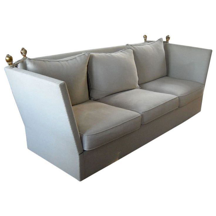 Knole Sofa | From a unique collection of antique and modern sofas at https://www.1stdibs.com/furniture/seating/sofas/